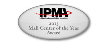 award badge ipma 2013