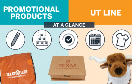 Promotional Products or UT Line Intro