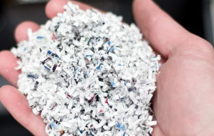 Shredded documents